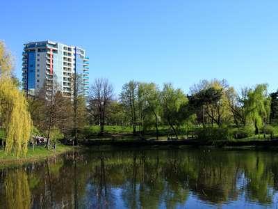 Penthouse Parcul Circului 5 camere 186 mp Finisaje Premium Panorama